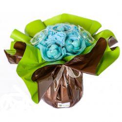 Bouquet de bonbons : Bleu