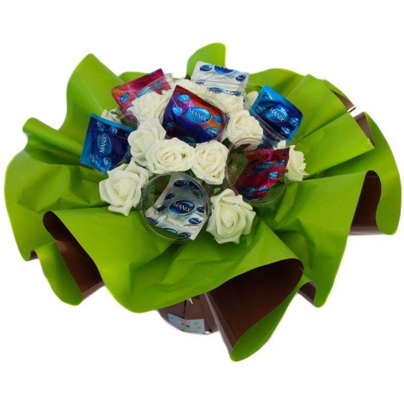 Bouquet box cadeau : Coquin Homme