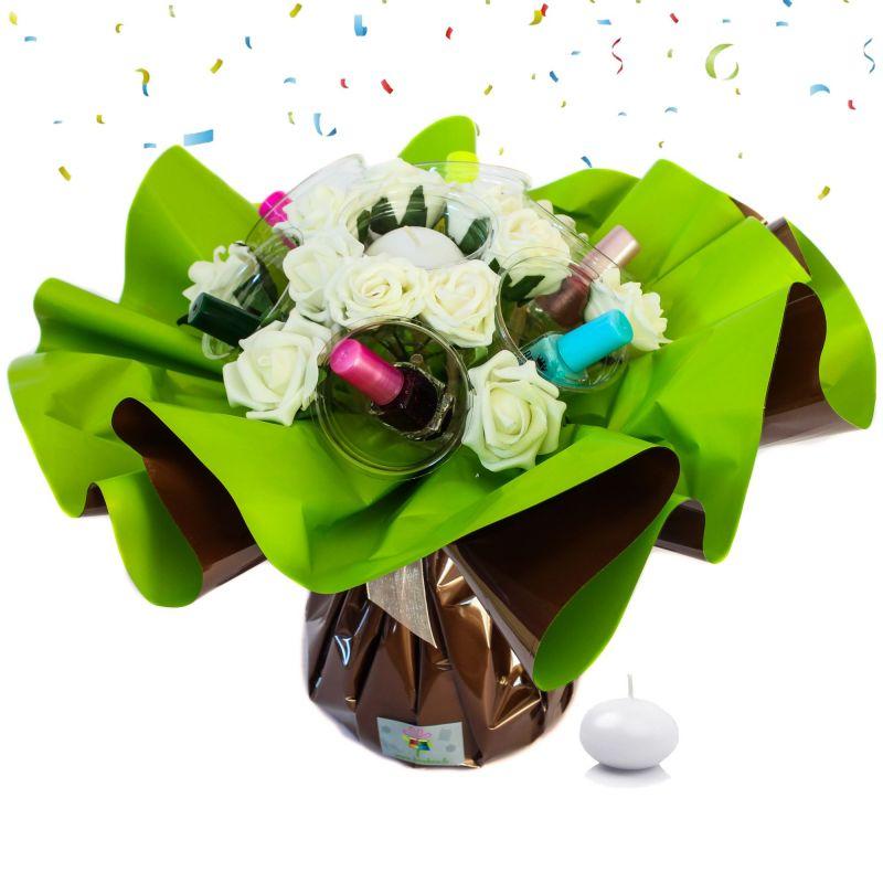 Bouquet anniversaire original Vernis à ongle