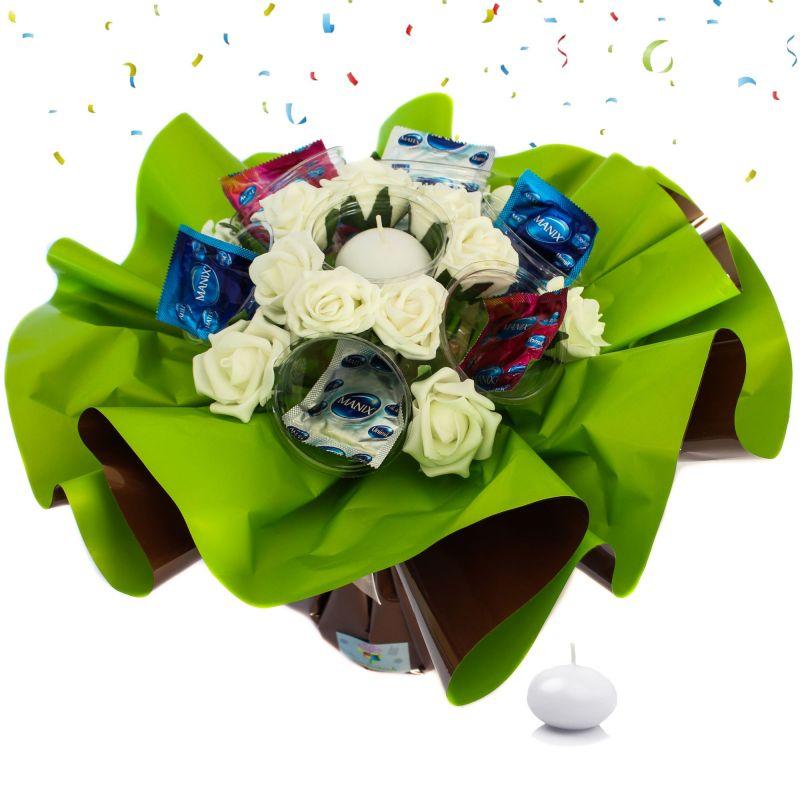Bouquet anniversaire original : Coquin Homme