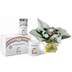 Ensemble cadeaux original : Licorne