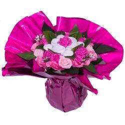 Bouquet de 6 vêtements (taille L) : Rose