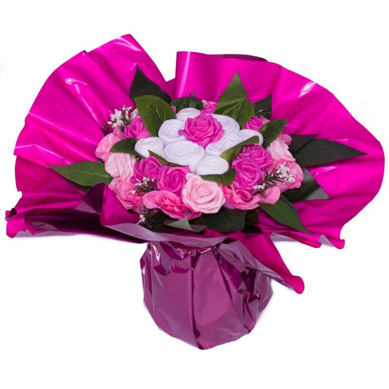 Bouquet original de 6 vêtements : Rose
