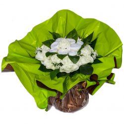 Bouquet de 6 vêtements (taille L) : Blanc