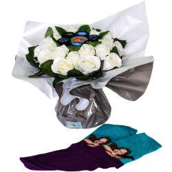 Bouquet pour femme : Chaussettes Art