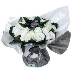 Bouquet cadeau : chaussettes Hommes Art