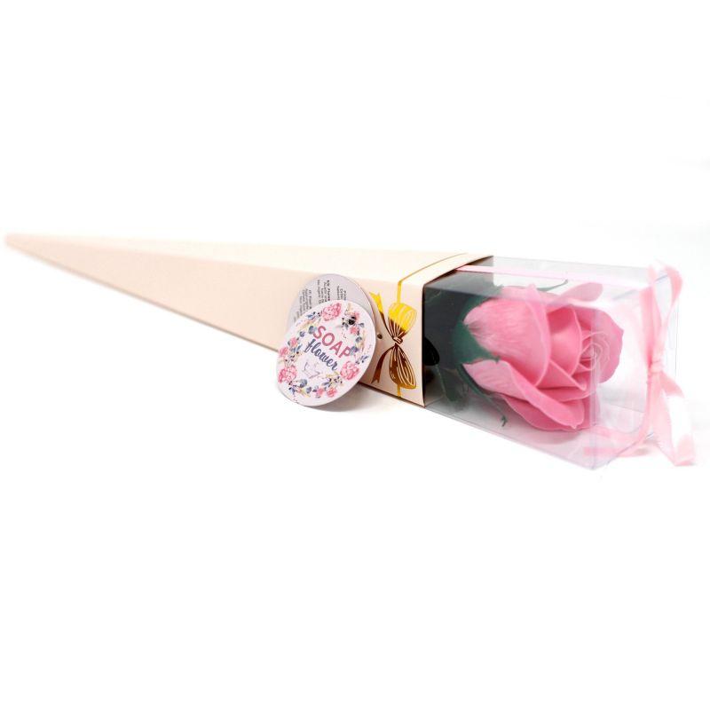 Rose de savon parfumée : Rose claire