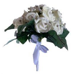 Bouquet de mariée éternel en fleurs de mousse